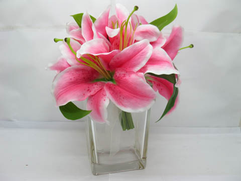 Marvelous 12X Wedding Clear Glass Cuboid Table Flower Vases 10x7.5x15cm