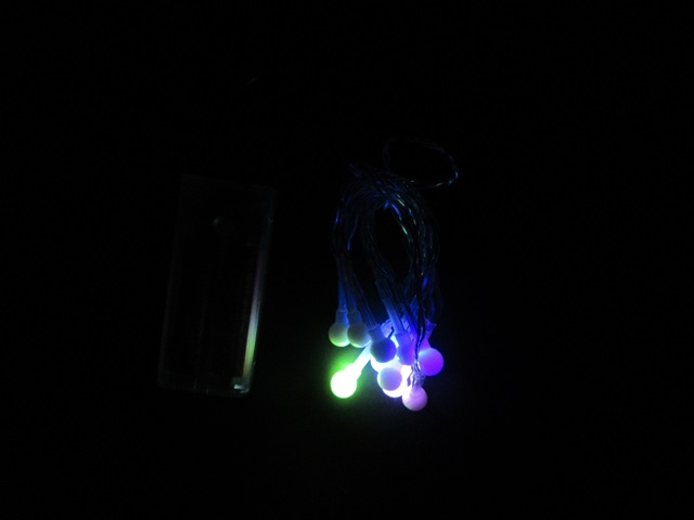 24packets X 10pcs Mini Berry Fairy String Lights 10 Led Battery